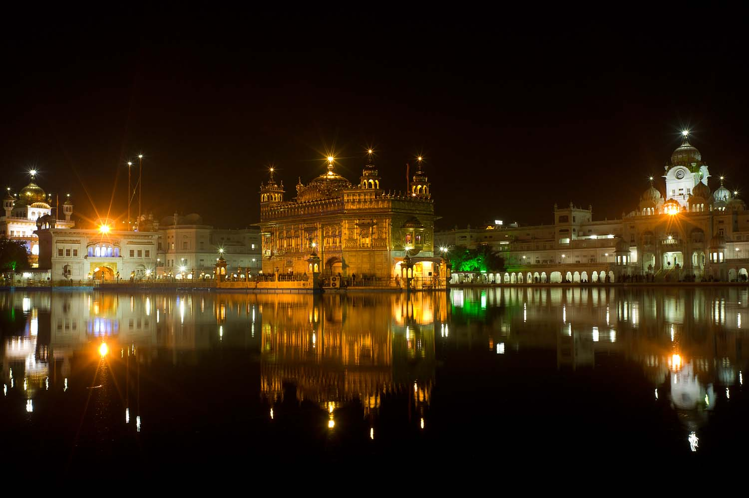 The Golden Temple, the holiest site in Sikhism