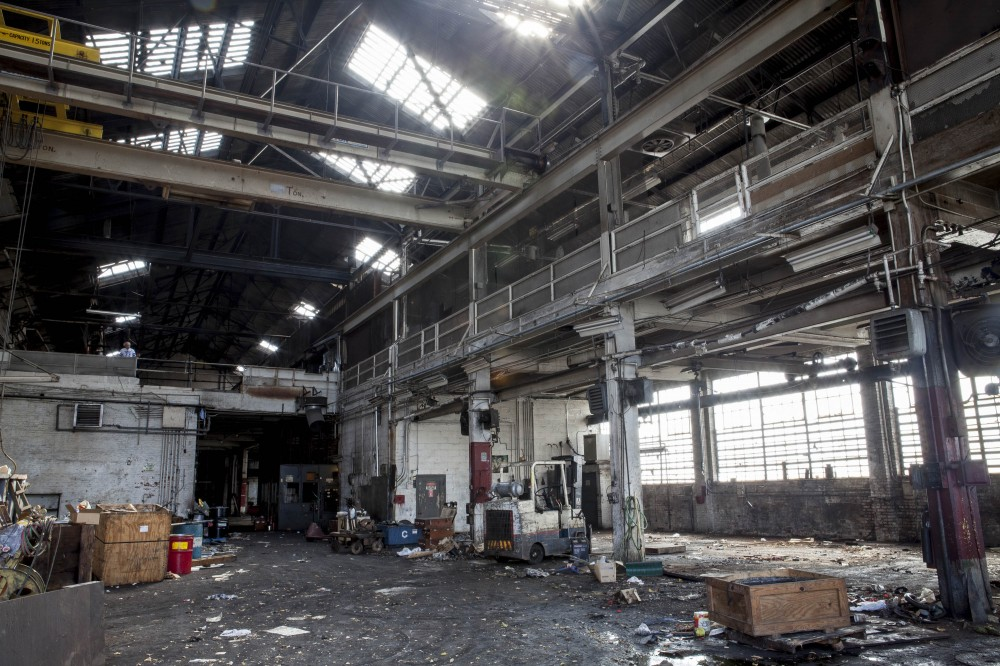 The workshop 2 days before its final shuttering